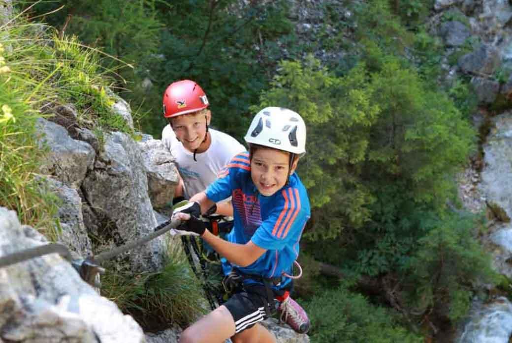 Klettersteig Oostenrijk : Klettersteige haus bernhard