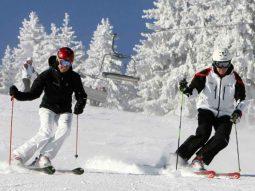 Skieen in het familieskigebied Ramsau Dachstein